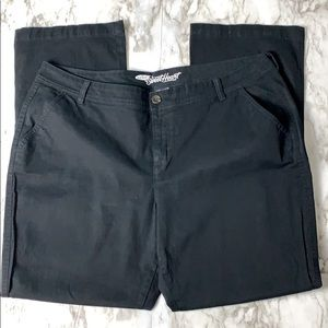 Old Navy The Sweetheart Chinos Black Size 18 Reg